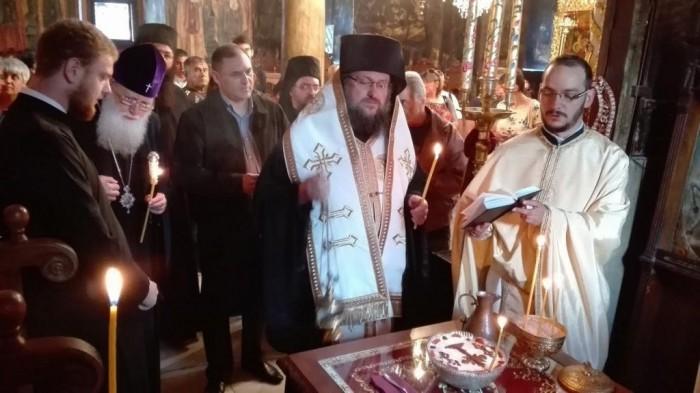 В Троянския манастир бе извършена панихида в памет на Българския Патриарх Максим