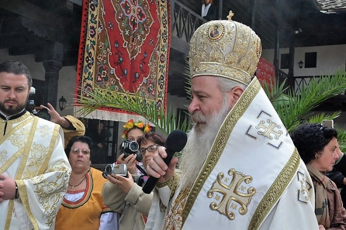 Слово на Величкия епископ Сионий при откриването на новата манастирска част в Троянския манастир