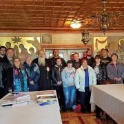 Велички епископ Сионий благослови новопостъпилите служители в Троянски манастир