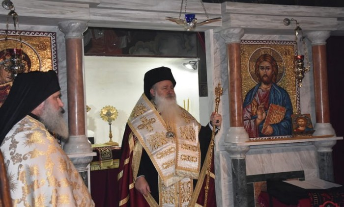 Монашеско пострижение в Троянския манастир