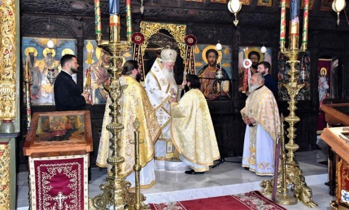 Йеродякон Елисей бе ръкоположен в йеромонашески чин.