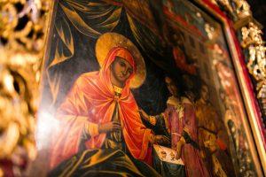 """Иконата """"Св. Богородица Троеручица"""""""