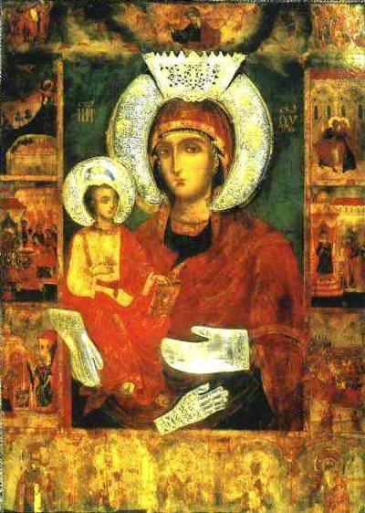 Troeruchica_Troyan_mon Всемирното Православие - ЧУДОТВОРНИТЕ ИКОНИ НА ПРЕСВЕТА БОГОРОДИЦА